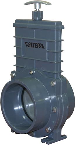 Valterra RVS 304 schuifkraan - 110 mm