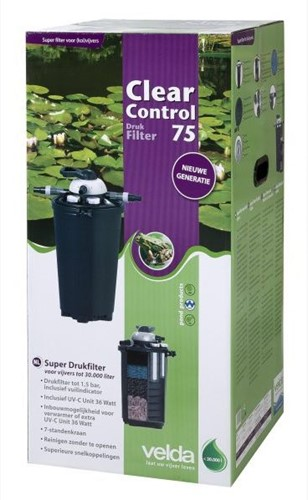 Velda Clear Control 75 + UV-C
