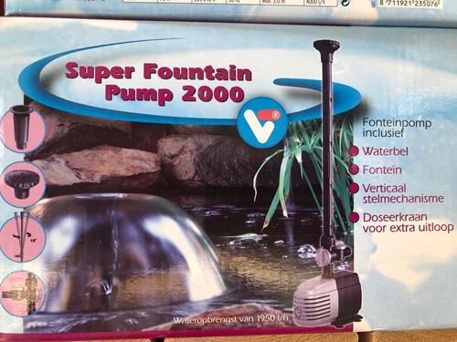 Velda Super fonteinpomp 2000