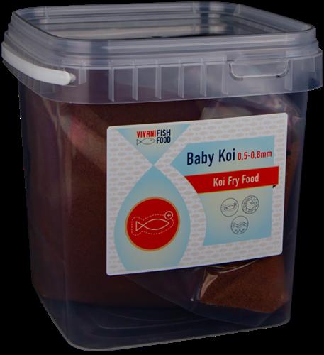 Vivani Fishfood - Baby Koi - 0,5 tot 0,8 mm 200 gr