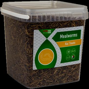 Vivani Fishfood - Meelwormen 5 liter