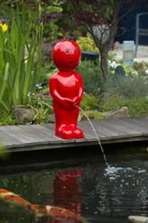 Waterornament BOY 45,5 cm - groen