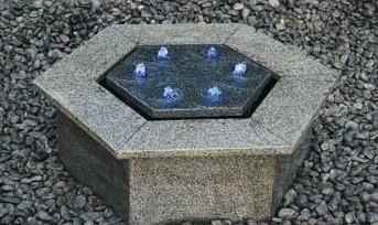 Waterornament Hexagon Hollow Reims