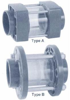 Zicht/Inspectieglas 63 mm