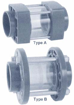 Zicht/Inspectieglas - 75 mm