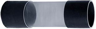 Zichtglas uit Transparante Buis met 3/3 koppeling 50 mm